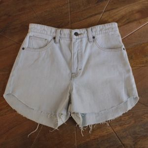 Lucky Brand Lucky Pins High Rise Jean Shorts